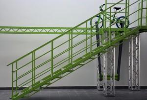 Bicikli a magasban