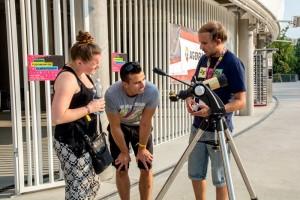 Agóra Tudományos Élményudvar a Campus Fesztiválon