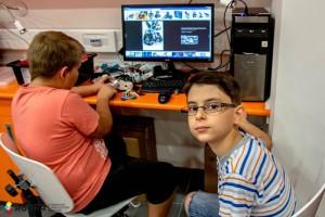 Robotika nyári tábor