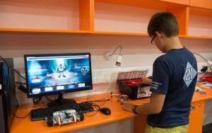 Agóra Tudományos Élményközpont robotika tábor